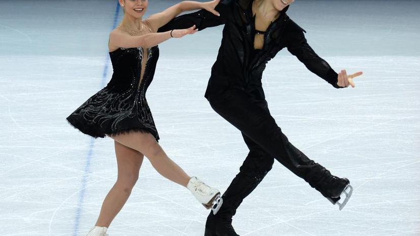 Елена Ильиных и Никита Кацалапов выиграли бронзовые медали в танцах на льду