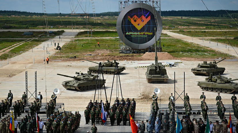 В подмосковном Алабине открываются первые Армейские международные игры — 2015