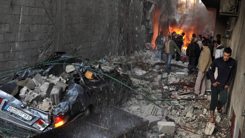 Взрыв в Дамаске унес жизни пяти человек