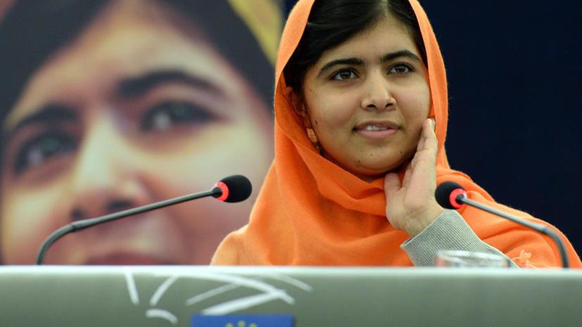 Активистке из Пакистана Малале Юсуфзай вручили премию Сахарова