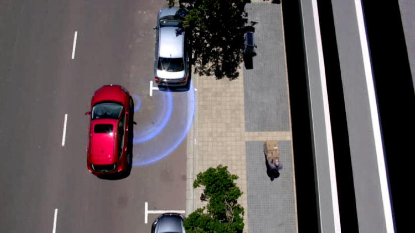 Автомобили Ford будут парковаться без участия человека