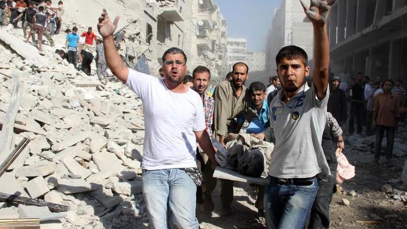 Количество жертв сирийского конфликта продолжает расти