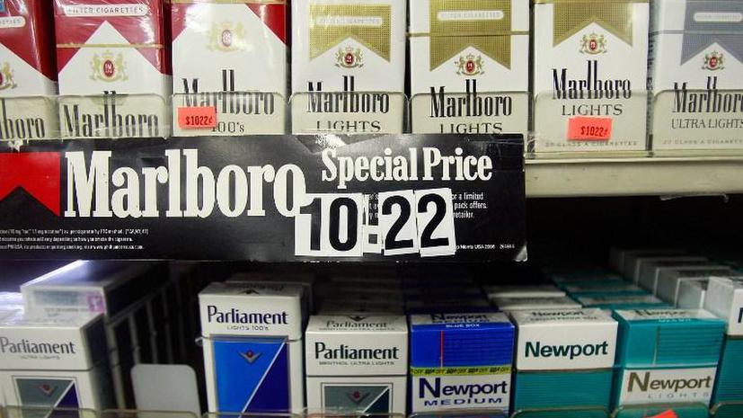 В Нью-Йорке запретили продавать сигареты несовершеннолетним