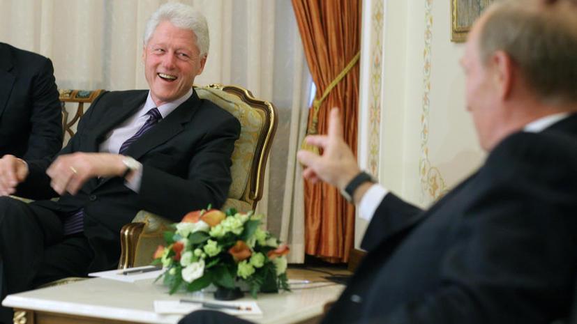 The New York Times: Билл Клинтон отмечал огромный потенциал Владимира Путина