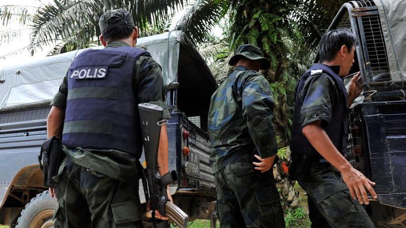 По меньшей мере 14 человек погибли в столкновениях в малайзийской провинции Сабах