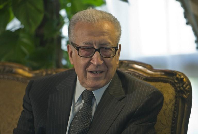 Брахими: правительство Сирии и оппозиция готовятся сесть за стол переговоров