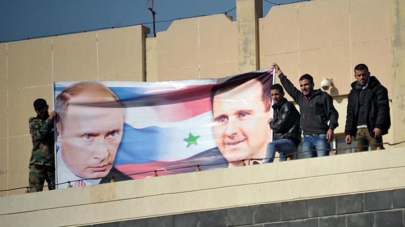Владимир Путин поздравил Башара Асада с освобождением Пальмиры