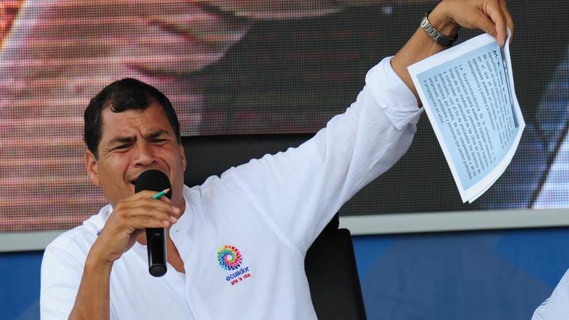 Эквадор: Мы не отказывали Сноудену в политическом убежище