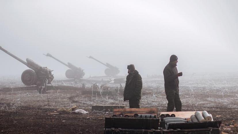 Минобороны ДНР: В дебальцевском котле находятся 5 тысяч военных, но бои по-прежнему продолжаются