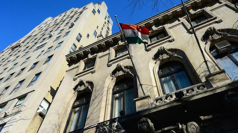Индийский вице-консул в Нью-Йорке Девияни Хобрагаде переведена на работу в Нью-Дели