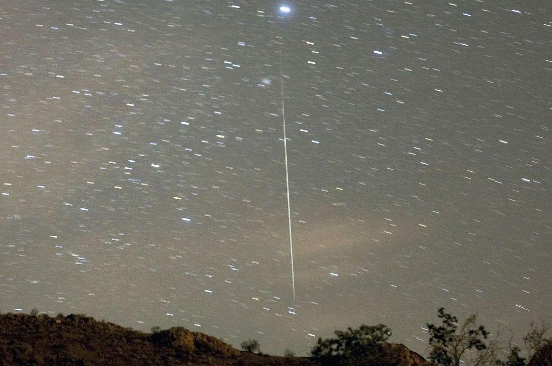 В Рижский залив упал метеорит