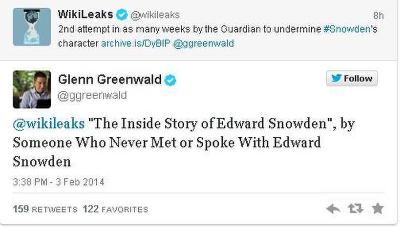 Глава новой книги об Эдварде Сноудене вызвала жёсткую критику WikiLeaks