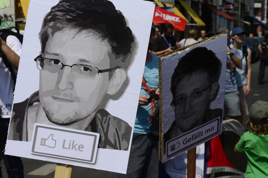Телеканал  Euronews признал Эдварда Сноудена  «человеком года»