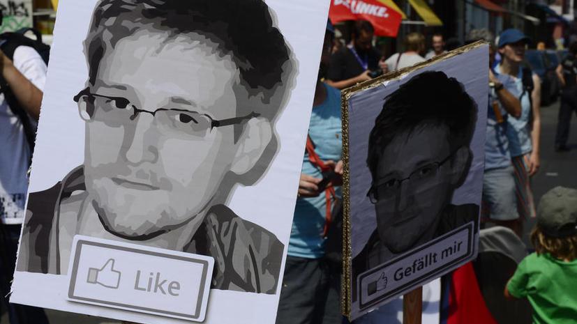 Эдвард Сноуден назвал свою миссию выполненной