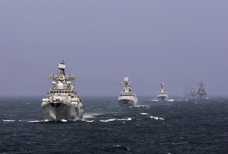 Эксперты считают совместные военные учения России и Китая в Средиземном море сигналом для Запада