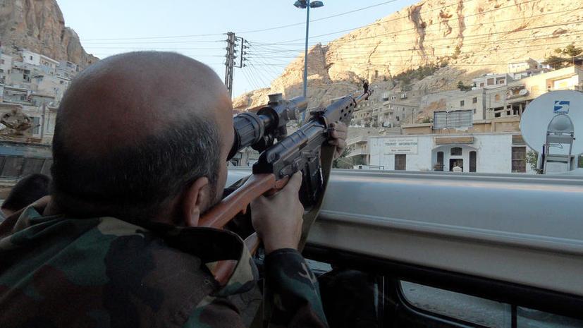 ЦРУ начало поставки вооружения сирийским боевикам
