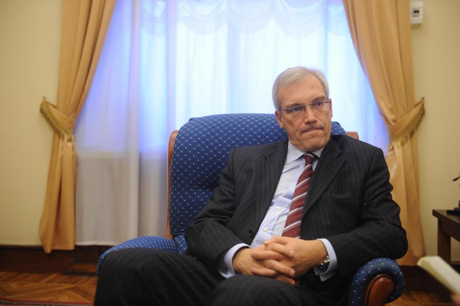 Александр Грушко: Строить безопасность в Европе без России - всё равно, что стрелять себе в ногу