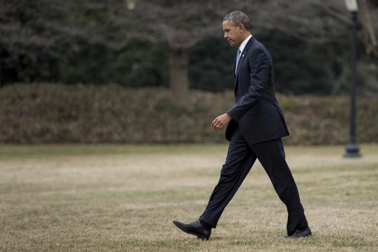 Рейтинги Барака Обамы упали до рекордного минимума