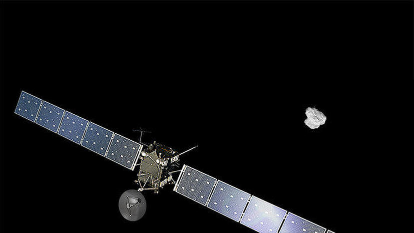 Большой сюрприз: Rosetta обнаружила кислород на комете Чурюмова — Герасименко
