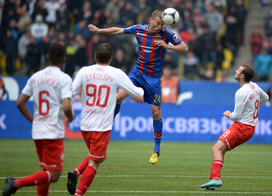 ЦСКА ушел от поражения в матче со «Спартаком» благодаря чуду и судье