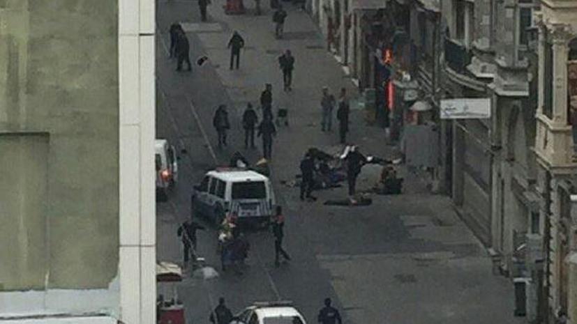 Взрыв прогремел на центральной улице Стамбула Истикляль