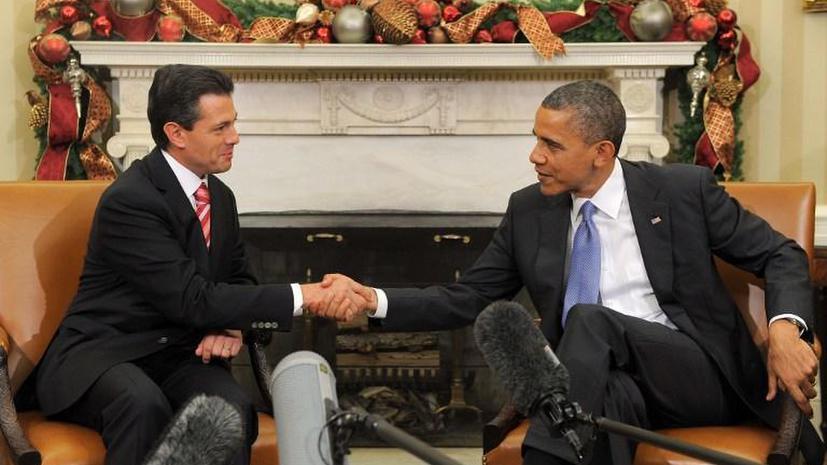 Барак Обама поехал в Мексику решать проблему наркотрафика