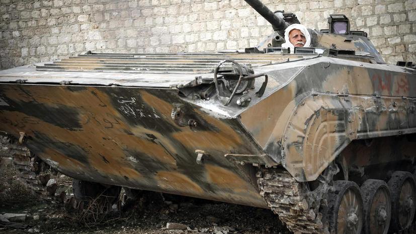 Свободная сирийская армия стала крупнейшим криминальным объединением страны