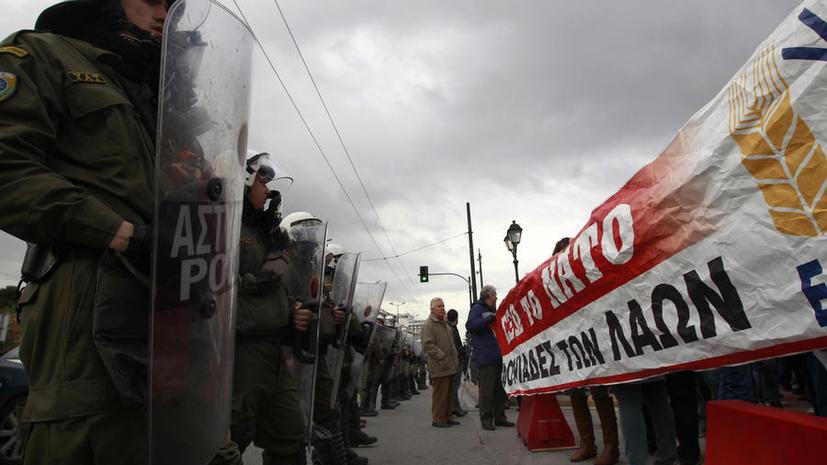 Американские СМИ: Любая российская помощь Греции — удар по НАТО