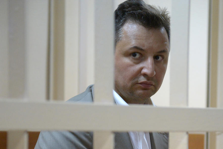 Пресненский суд поместил под домашний арест топ-менеджера «Росбанка» Владимира Голубкова