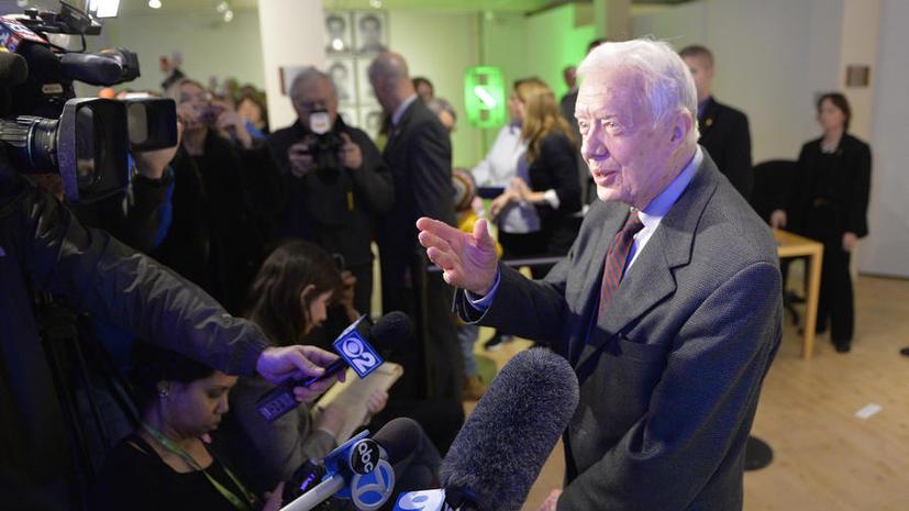Экс-президент США Джимми Картер высказался против введения санкций в отношении России