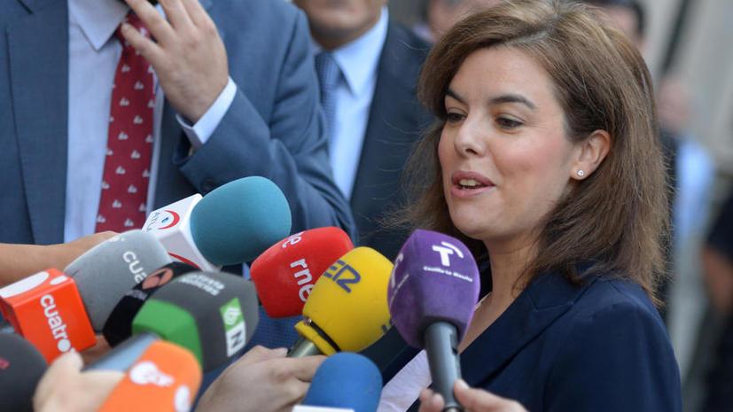 Вице-премьер Испании: Референдум о независимости Каталонии законодательно невозможен