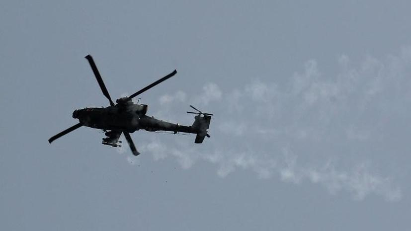 Китайцы, возможно, скопировали американский вертолёт Apache