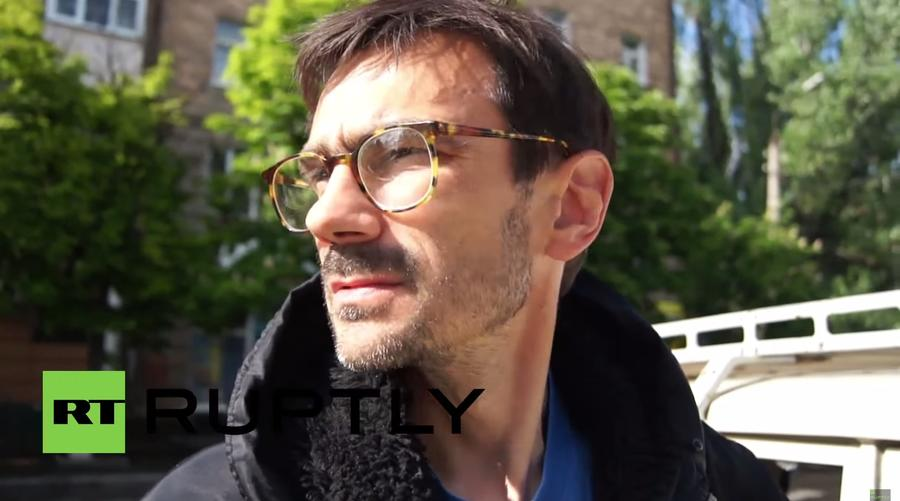 Репортёр телеканала «Звезда» Андрей Лунёв подорвался на растяжке в Донбассе