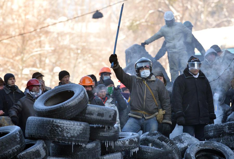 В Киеве продолжаются акции протеста - прямая трансляция