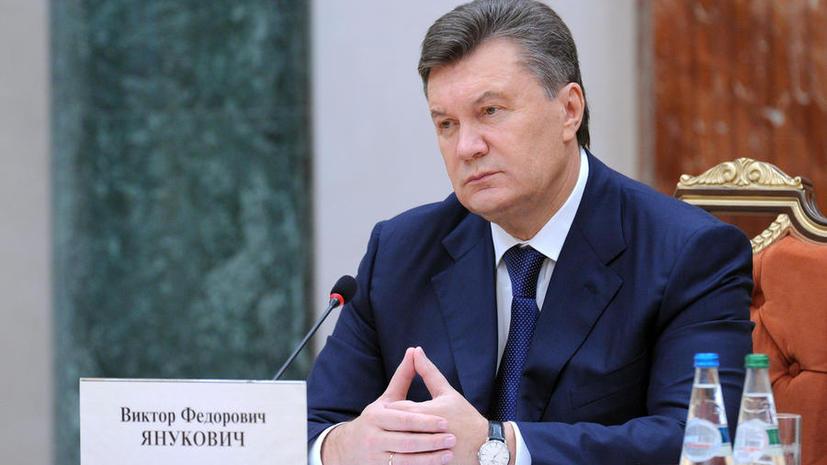 Виктор Янукович: Я сделаю всё от меня зависящее, чтобы ускорить сближение Украины с ЕС