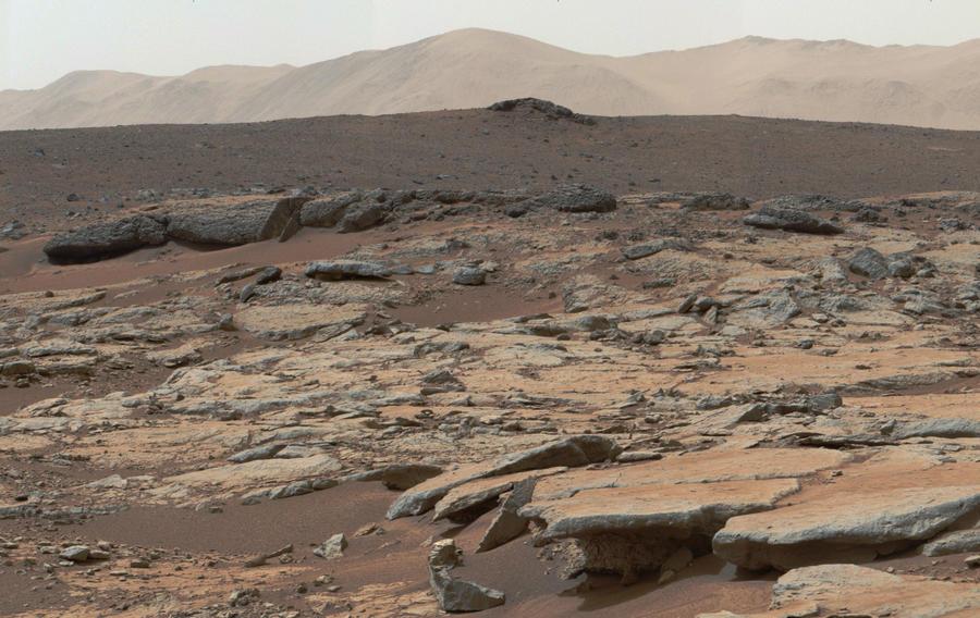 На Марсе обнаружены условия для существования жидкой воды