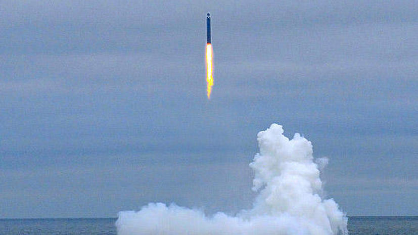 Минобороны возобновит пуски ракеты «Булава»