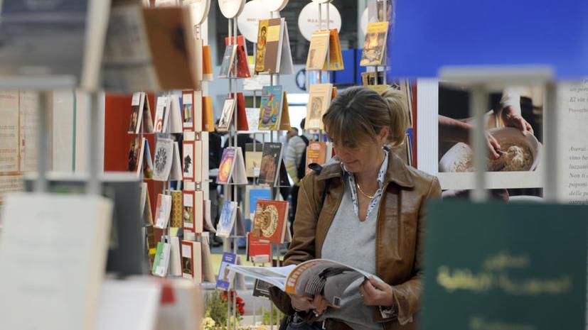 Книжный прилавок длиной в 2 км открылся в Италии