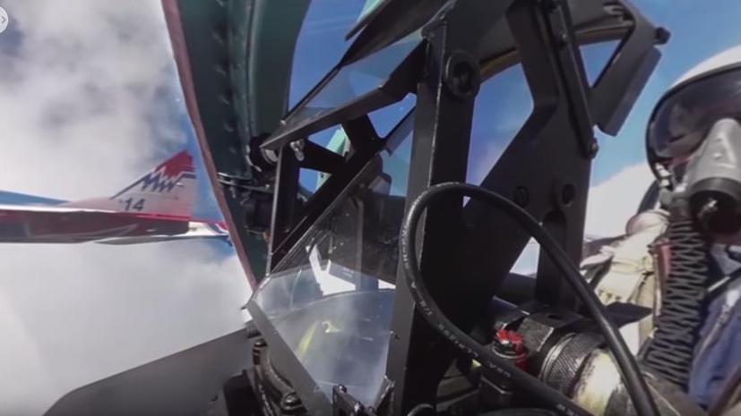 Мир под углом 360°: взгляд из кабины Су-27 и другие лучшие панорамные видео от RT
