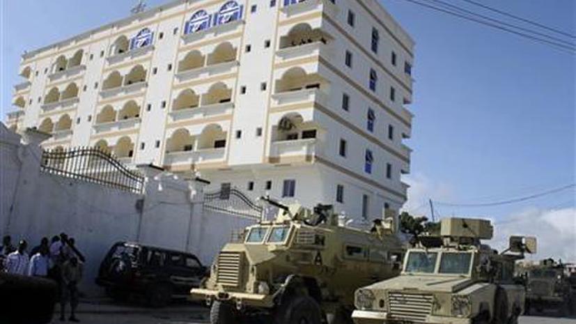 Три бомбы разорвались в фешенебельном отеле в столице Сомали