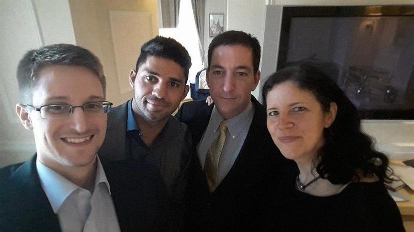 В России с Эдвардом Сноуденом встретился журналист, публикующий полученные от него данные
