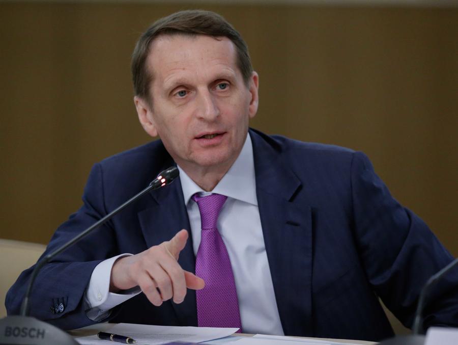 Сергей Нарышкин: Санкции нужны США для безнаказанного экономического разбоя