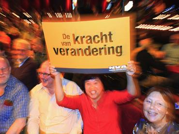 Националисты побеждают на местных выборах в Бельгии