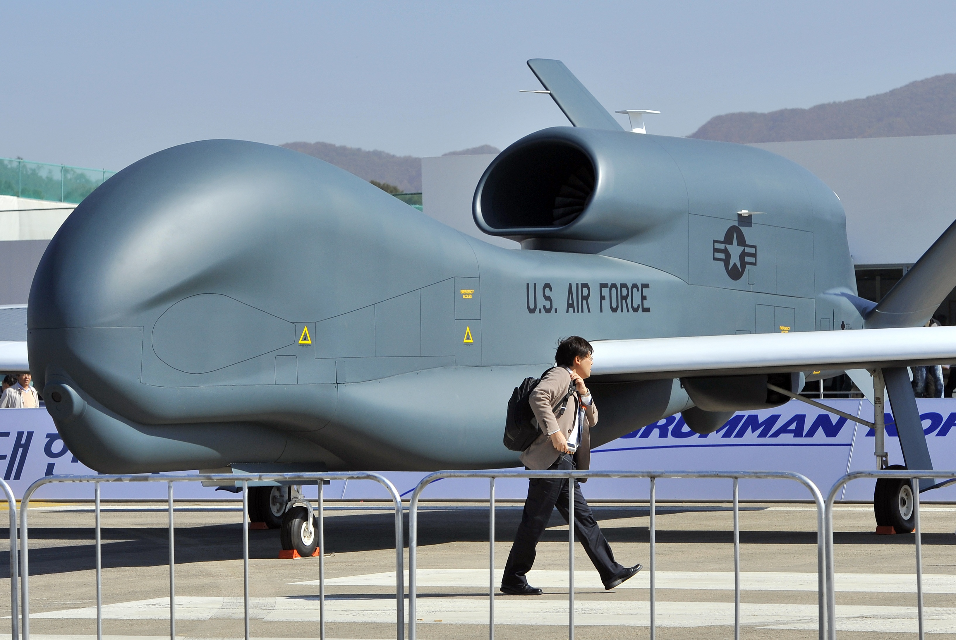 Южная Корея потратит $1,2 млрд на закупку беспилотников у США
