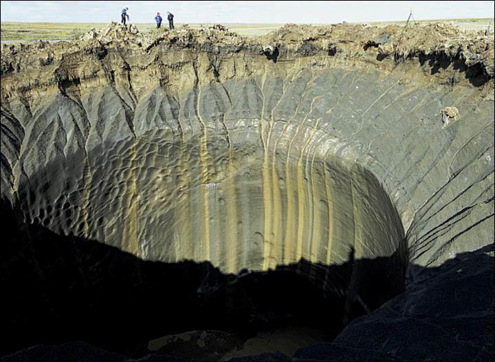 В Сибири обнаружены ещё несколько загадочных гигантских кратеров