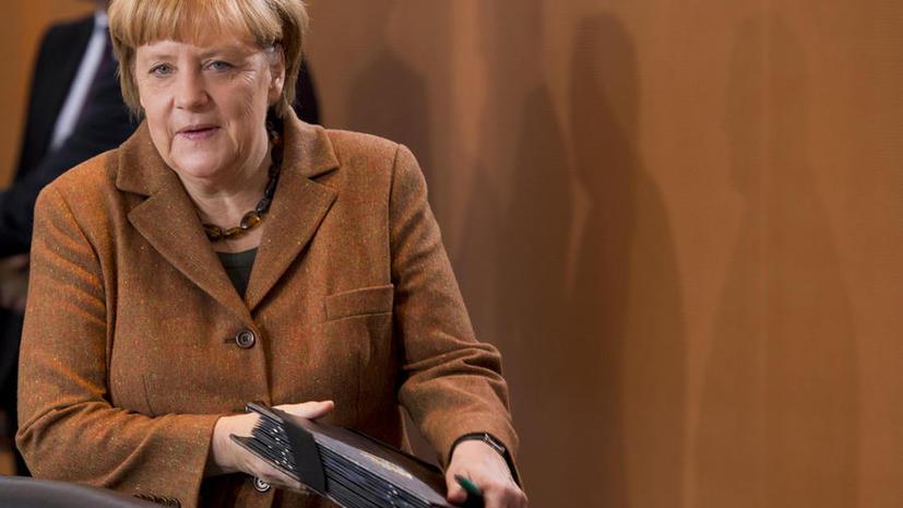 CША, возможно, прослушивали мобильный телефон канцлера Германии Ангелы Меркель