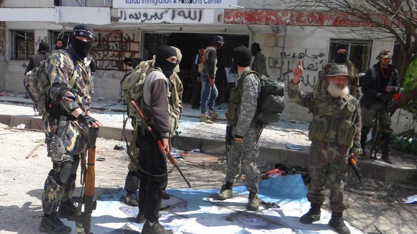 Лидер боевиков: Поток американского оружия в Сирию породит «новое Сомали»