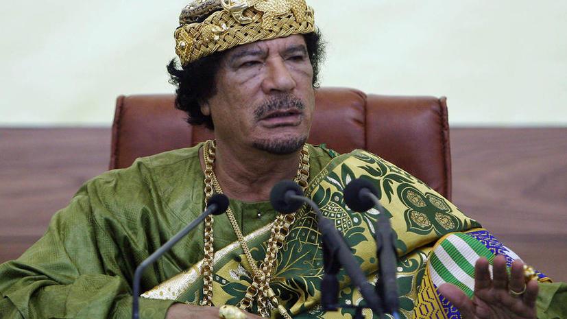 Правительство Ливии ищет бриллианты Муамара Каддафи в банках ЮАР