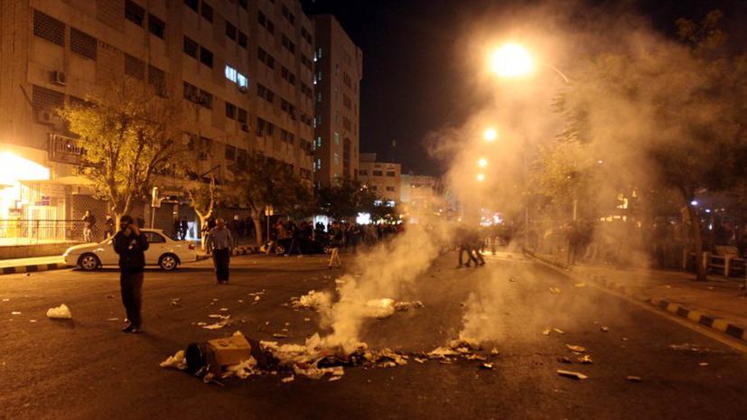 По Иордании прокатилась волна протестов