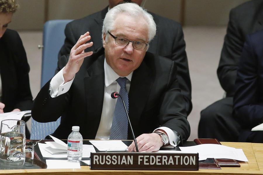 Виталий Чуркин: Никто на Западе не хочет проводить параллели между кризисом на Украине и в Йемене